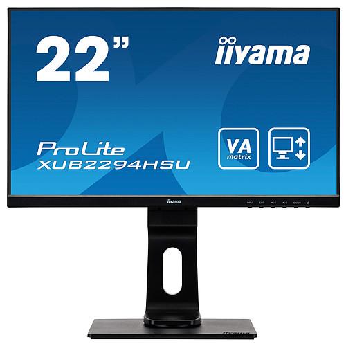 "iiyama 21.5"" LED - Prolite XUB2294HSU-B1 pas cher"