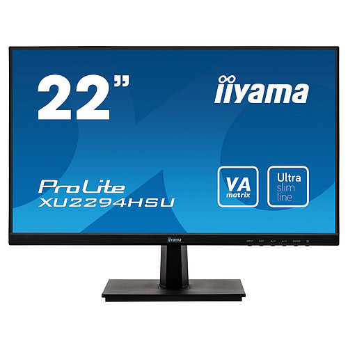 "iiyama 21.5"" LED - Prolite XU2294HSU-B1 pas cher"