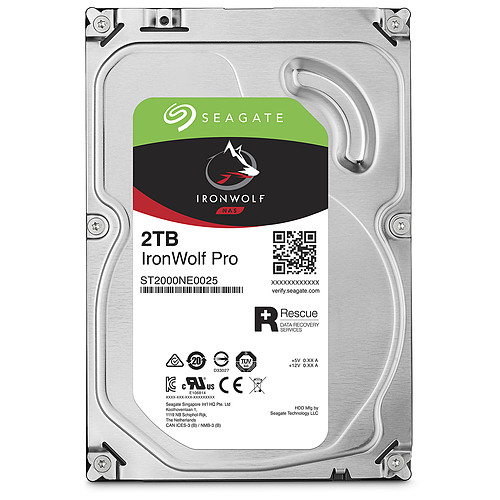 Seagate IronWolf Pro 2 To (ST2000NE0025) pas cher