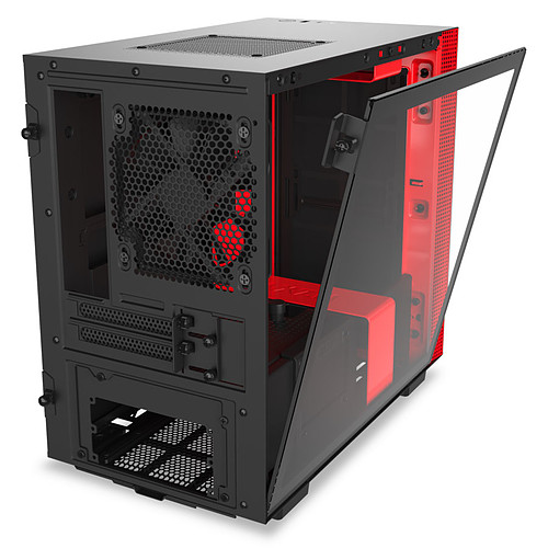 NZXT H210i Noir/Rouge pas cher
