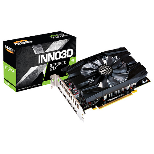INNO3D GeForce GTX 1660 COMPACT pas cher