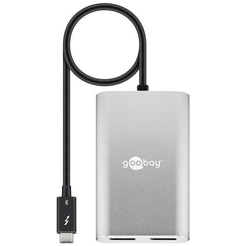 Goobay Adaptateur Multiport USB-C Thunderbolt 3 / DisplayPort (M/F) pas cher