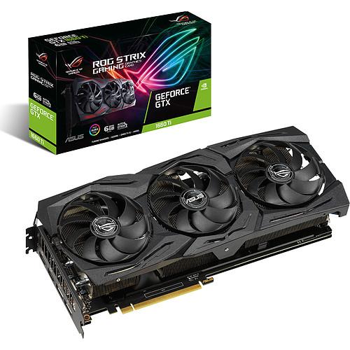 ASUS GeForce GTX 1660 Ti ROG-STRIX-GTX1660TI-6G-GAMING pas cher