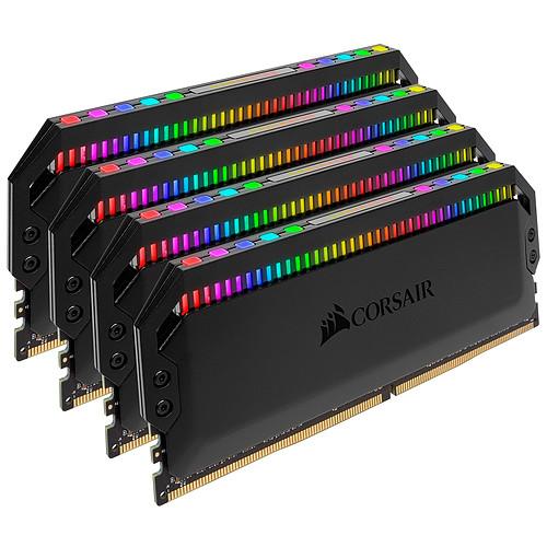 Corsair Dominator Platinum RGB 64 Go (4x 16 Go) DDR4 3466 MHz CL16 pas cher