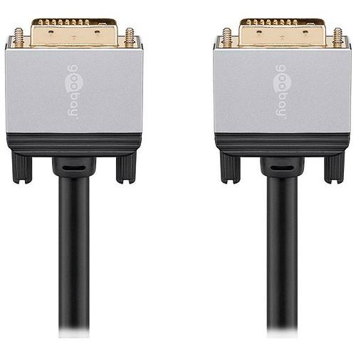 Goobay Plus Câble DVI-D 4K (3 m) pas cher