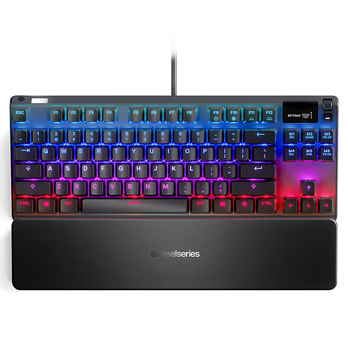 SteelSeries Apex 7 TKL - Switches QX2 Brown pas cher