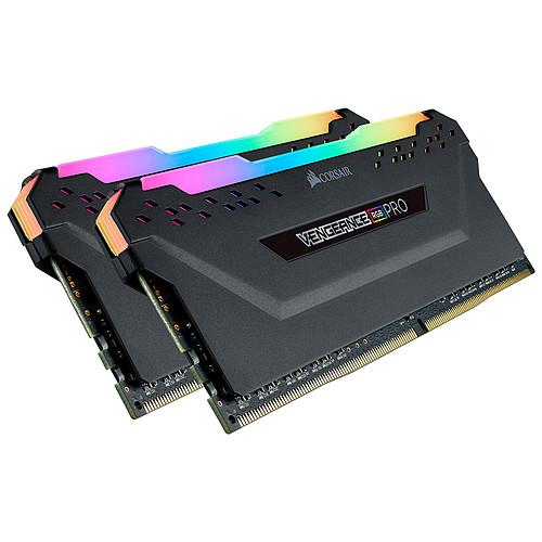 Corsair Vengeance RGB PRO Series 16 Go (2x 8 Go) DDR4 4000 MHz CL16 pas cher