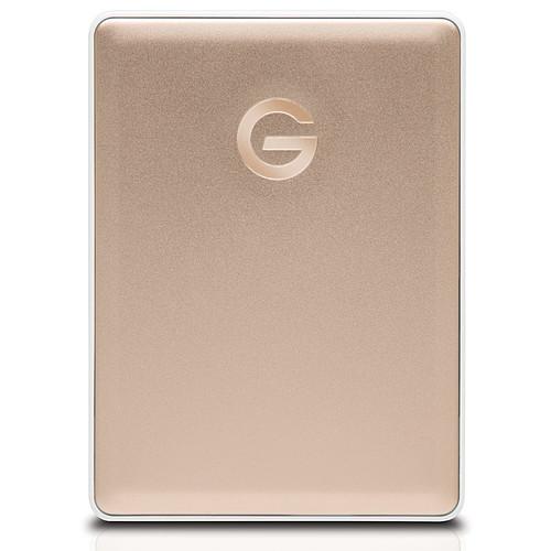 G-Technology G-Drive Mobile USB-C 2 To Doré pas cher