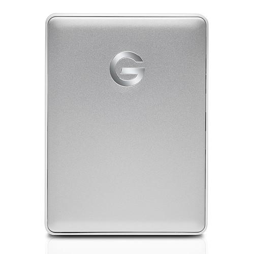 G-Technology G-Drive Mobile USB-C 2 To Argenté pas cher