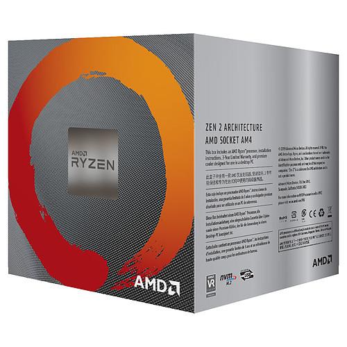 AMD Ryzen 5 3600 Wraith Stealth (3.6 GHz / 4.2 GHz) avec mise à jour BIOS pas cher