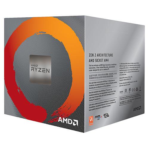 AMD Ryzen 7 3700X Wraith Prism LED RGB (3.6 GHz / 4.4 GHz) avec mise à jour BIOS pas cher