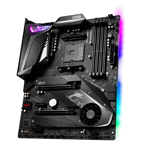 MSI MPG X570 GAMING PRO CARBON WIFI pas cher