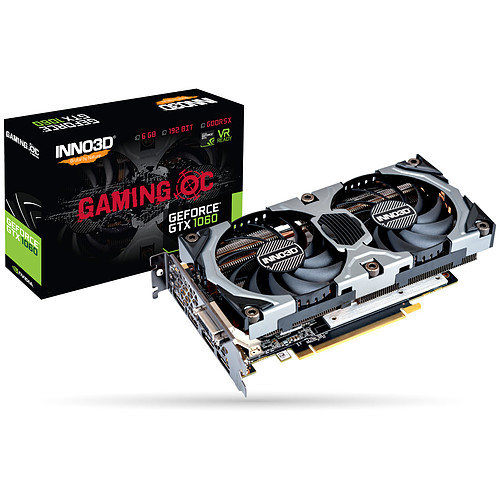 INNO3D GeForce GTX 1060 6GB GAMING OC pas cher