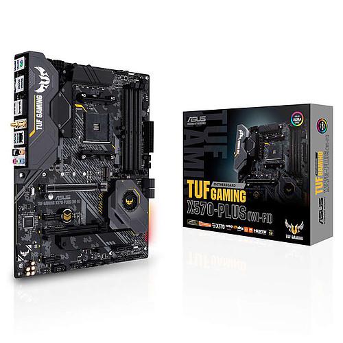 ASUS TUF GAMING X570-PLUS (WI-FI) avec mise à jour de BIOS pas cher
