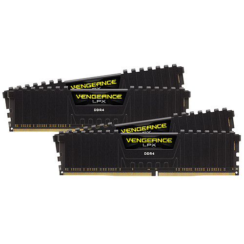 Corsair Vengeance LPX Series Low Profile 128 Go (4 x 32 Go) DDR4 2400 MHz CL16 pas cher