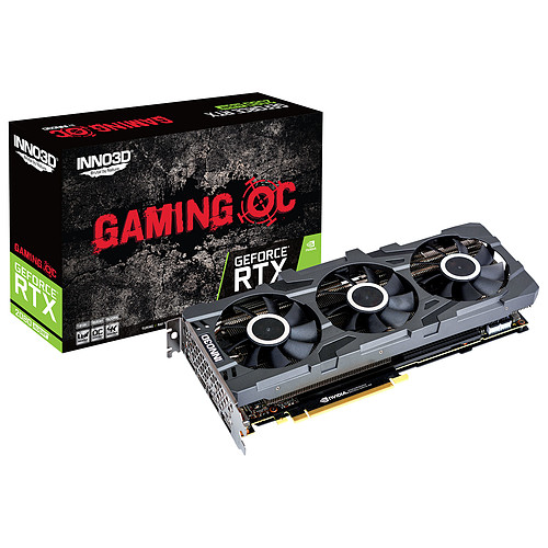 INNO3D GeForce RTX 2080 SUPER GAMING OC X3 pas cher