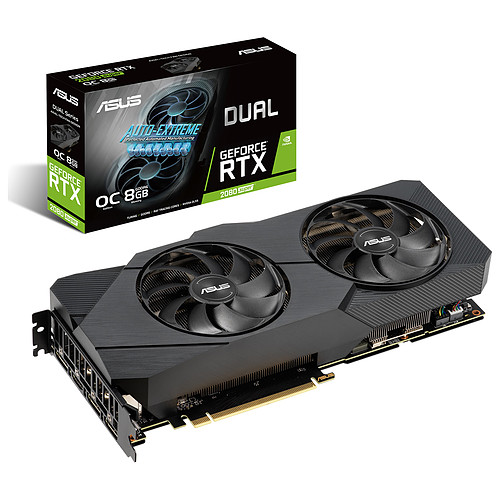 ASUS GeForce RTX 2080 SUPER DUAL-RTX2080S-O8G-EVO pas cher