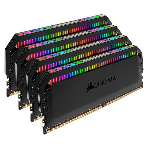 Corsair Dominator Platinum RGB 32 Go (4 x 8 Go) DDR4 4000 MHz CL19 pas cher