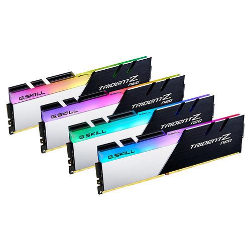 G.Skill Trident Z Neo 64 Go (4x 16 Go) DDR4 3600 MHz CL18 pas cher