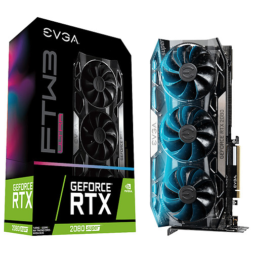EVGA GeForce RTX 2080 SUPER FTW3 ULTRA GAMING pas cher