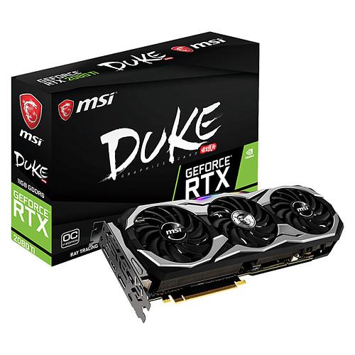 MSI GeForce RTX 2080 Ti DUKE 11G OCV1 pas cher