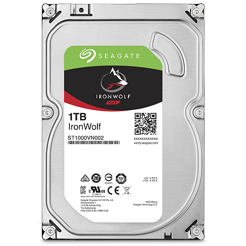 Seagate IronWolf 1 To pas cher