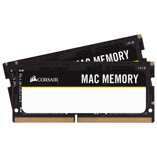 Corsair Mac Memory SO-DIMM 16 Go (2x 8 Go) DDR4 2666 MHz CL18 pas cher