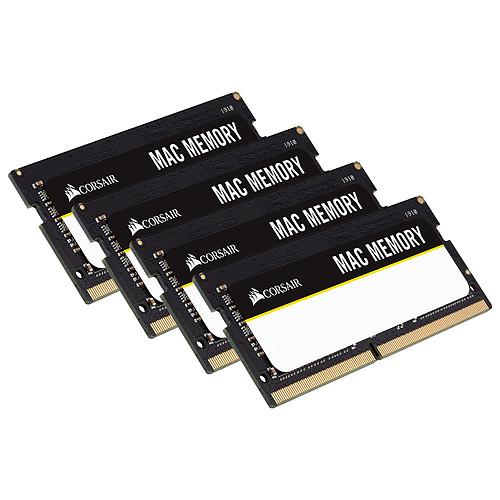 Corsair Mac Memory SO-DIMM 32 Go (4x 8 Go) DDR4 2666 MHz CL18 pas cher