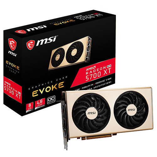 MSI Radeon RX 5700 XT EVOKE OC pas cher