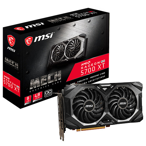 MSI Radeon RX 5700 XT MECH OC pas cher
