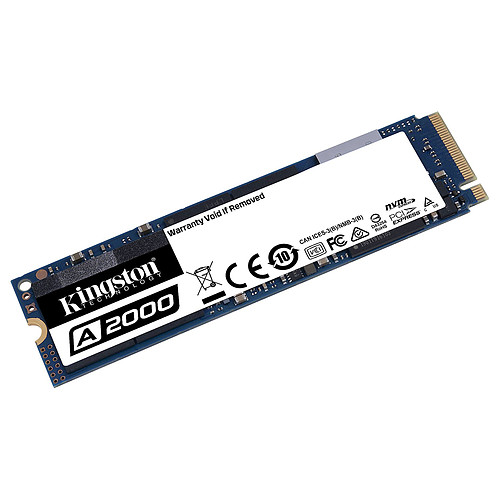 Kingston SSD A2000 500 Go pas cher