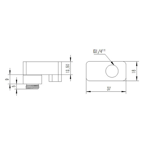 Barrow Adaptateur 15mm 360° TX360PZ-15 pas cher