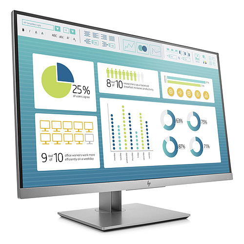 "HP 27"" LED - EliteDisplay E273 pas cher"