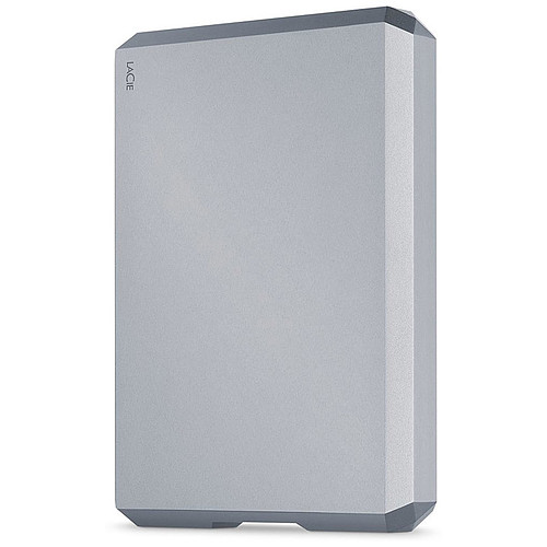 LaCie Mobile Drive 4 To Space Gray  (USB 3.1 Type-C) pas cher