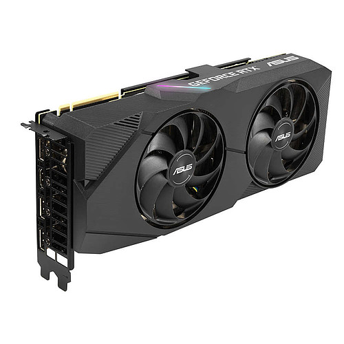 ASUS GeForce RTX 2070 SUPER DUAL-RTX2070S-8G-EVO pas cher