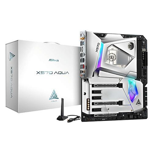 ASRock X570 AQUA pas cher