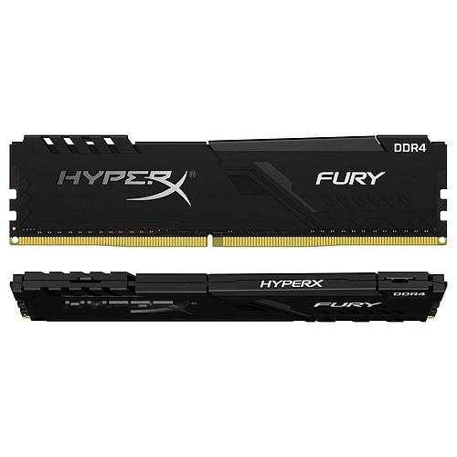 HyperX Fury 16 Go (2 x 8 Go) DDR4 2666 MHz CL16 pas cher