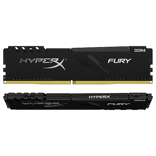 HyperX Fury 32 Go (2 x 16 Go) DDR4 2666 MHz CL16 pas cher