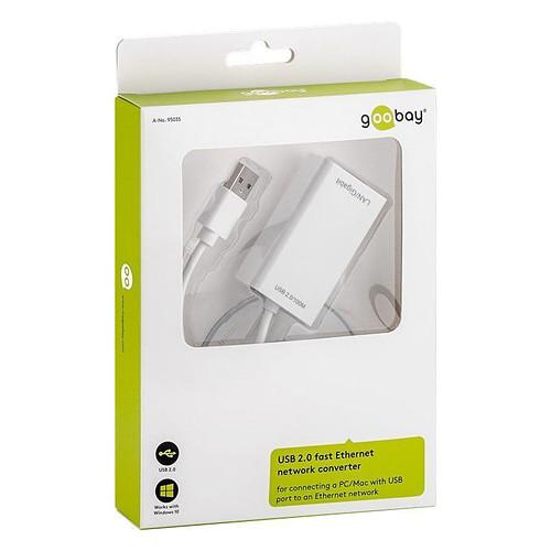 Goobay USB 2.0 Fast Ethernet Converter pas cher