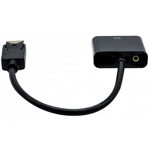 Convertisseur DisplayPort 1.2 actif vers VGA + Audio pas cher