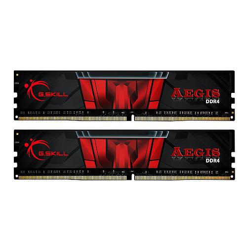 G.Skill Aegis 32 Go (4 x 8 Go) DDR4 3200 MHz CL16 pas cher