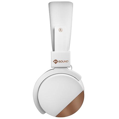 My Sound Speak Metal Blanc/Cuivre pas cher