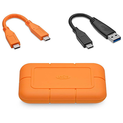 LaCie Rugged USB-C SSD 2 To pas cher