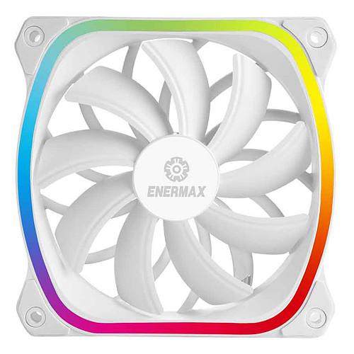 Enermax SquA. RGB White 120 mm Pack de 3 pas cher
