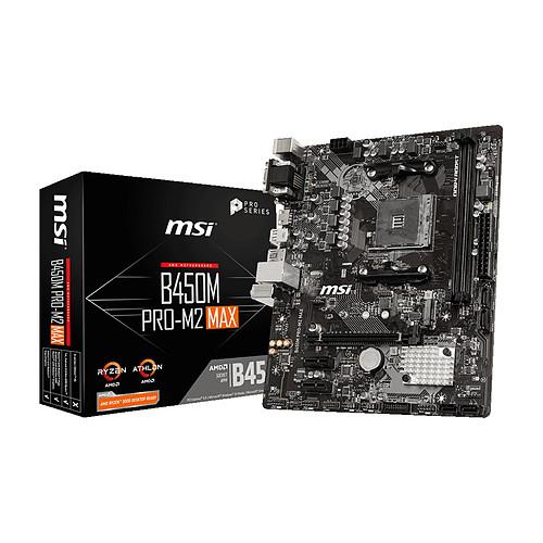 MSI B450M PRO-M2 MAX pas cher