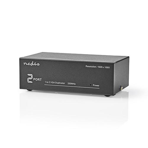 Nedis 2 Ports VGA Splitter (1 entrée vers 2 sorties) pas cher