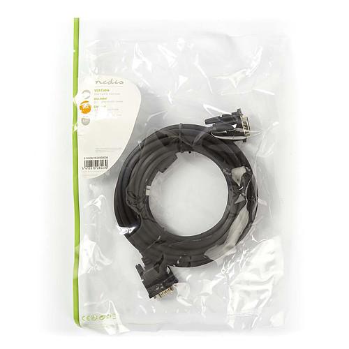 Câble VGA HD mâle / mâle (5 m) pas cher