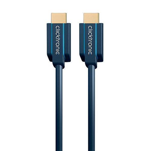 Clicktronic câble Ultra High Speed HDMI (1 mètre) pas cher