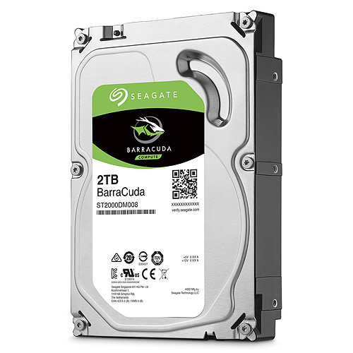 Seagate BarraCuda 2 To (ST2000DM008) pas cher