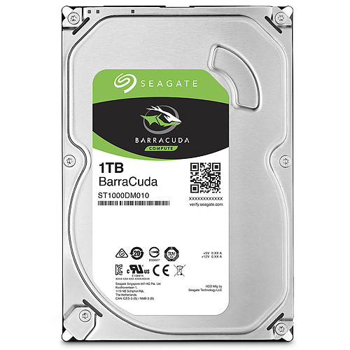 Seagate BarraCuda 1 To (ST1000DM010) pas cher